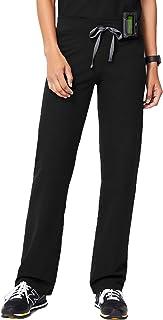 FIGS Livingston Basic Scrub Pants for Women – Tailored Fit, Super Soft Stretch, Anti-Wrinkle Medical Scrub Pants