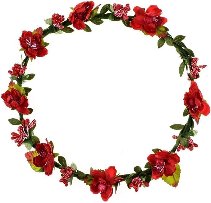 Burgundy purple flower crown Wedding flower crown Wedding flowers Bridal headpice Flower hair wreath Flower hair wreath Flower halo