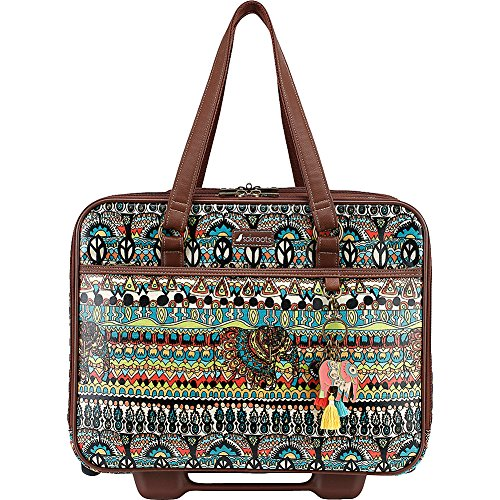 Sakroots Women's Artist Circle Mobile Tote, Natural One World, Size