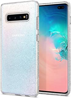 Capa Spigen Liquid Crystal Glitter Galaxy Samsung S10 Plus Original (Crystal Quartz)