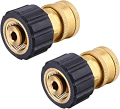 """Challco M22 Female Metric X 3/8"""" Quick Connect Socket, for Pressure Washer Gun and Hose,2 Pack"""