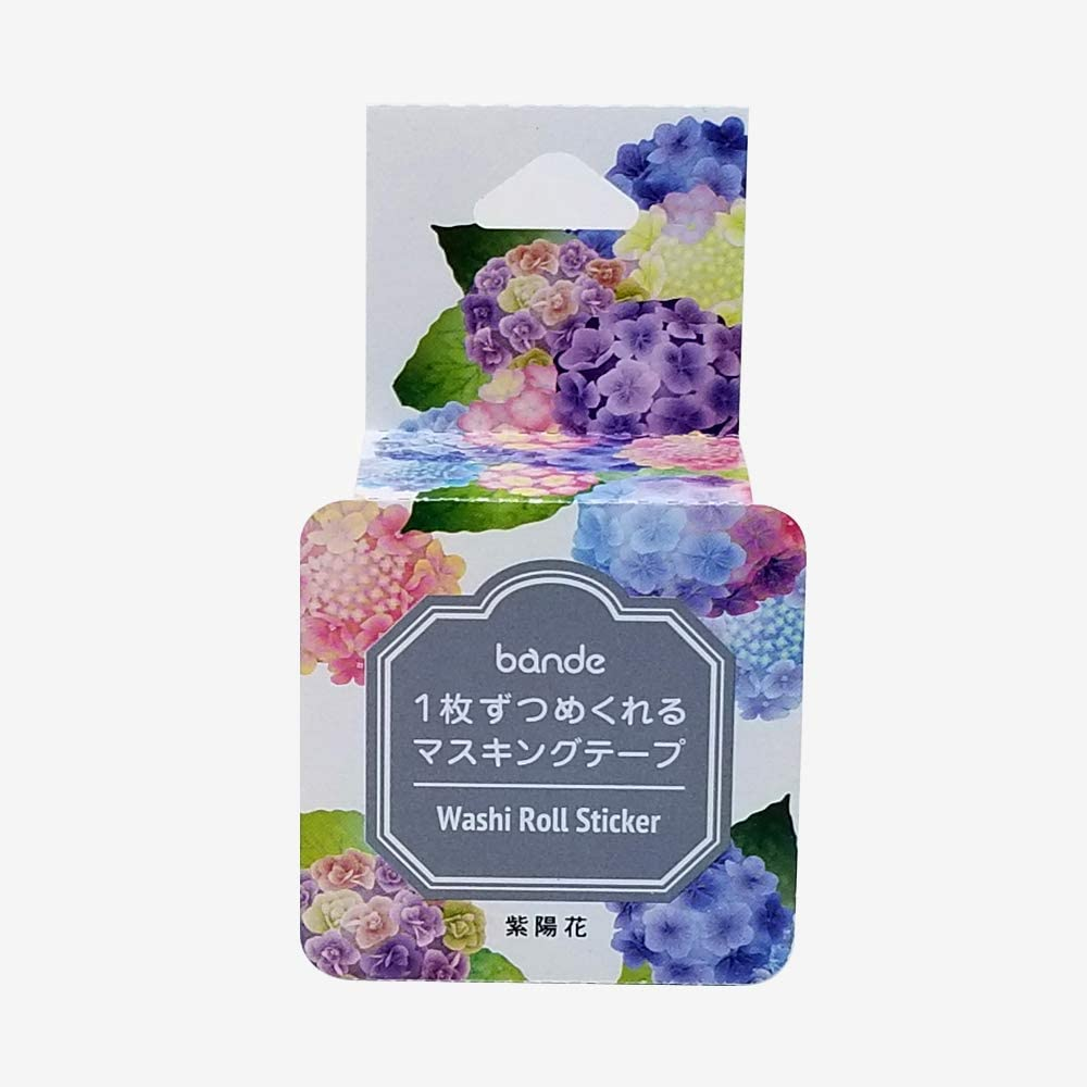 Bande Masking Roll Sticker Tape Max 42% OFF DIY Large special price Scrapbooking for Hydrangea