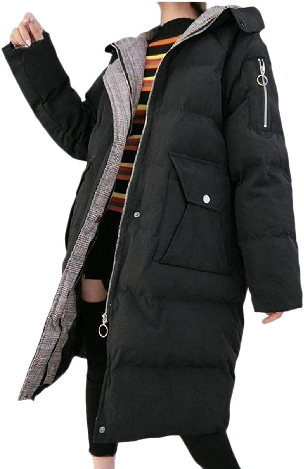 TaoNice Womens Casual Down Outwear Topcoat Puffer CottonPadded Parka