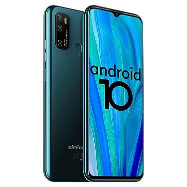 "Unlocked Smartphones Ulefone Note 9P (2020) Android 10 Unlocked Cell phones, Triple Rear Camera Triple Card Slots, 6.52"" Waterdrop Full-Screen Dual SIM Phones, 4500mAh Global Bands, US Version - Green"