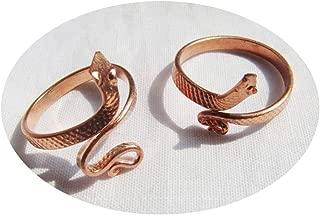 Best copper snake ring Reviews