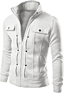 Cardigan Coat Jacket Classic Fashion Mens Slim Designed Lapel Outerwear