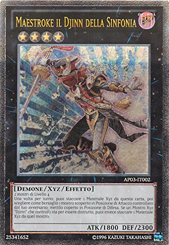 Yu-Gi-Oh! - AP03-IT002 - Maestroke Il Djinn Della Sinfonia - Astral Pack 3 - Unlimited Edition - Ultimate