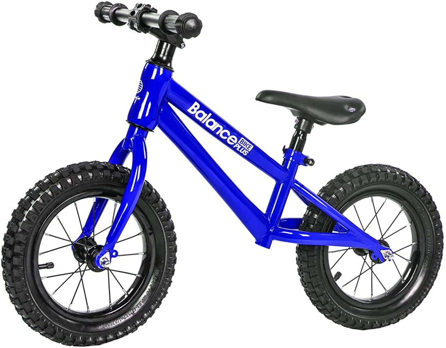 Sport Balance Bike, No Pedal Control Walking Bicycle Transitional Cycling Rubber Tires Adjustable Seat Upholstered Handlebars Kids Toddlers for 26 Years Old