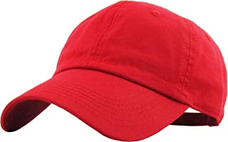 8ae7cff2 KBETHOS Classic Polo Style Baseball Cap All Cotton Made Adjustable Fits Men  Women Low Profile Black