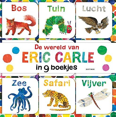 De wereld van Eric Carle in 9 boekjes gemaakt voor kleine handjes: ontdek jouw favoriete boekje