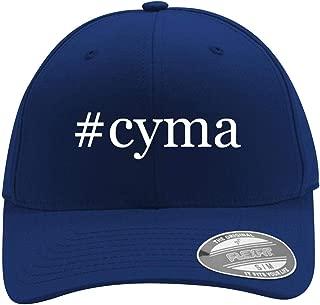 #cyma - Men's Hashtag Flexfit Baseball Cap Hat