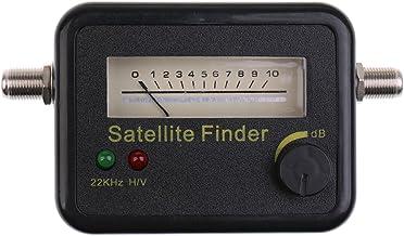 Prettyia Digital Detector Direct Satellite Signal with Compass 13 / 18V DC 950-2150MHz Black