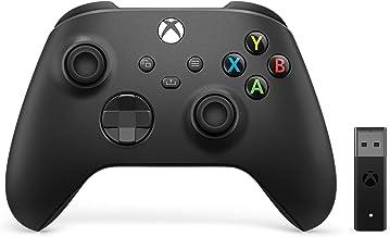 Microsoft Controller Wireless per Xbox + Adattatore Wireless per Windows 10