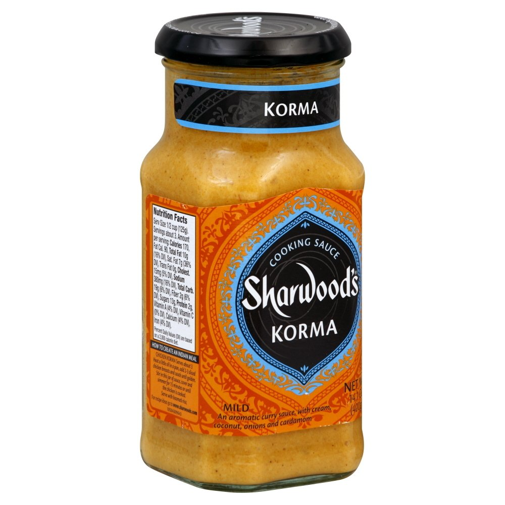 Sauce Direct New mail order stock discount Cooking Korma Curry Pack Of - 6 of