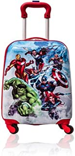 Avengers Hardshell Spinner Trolley 18 Inch Kids Luggage [Blue]