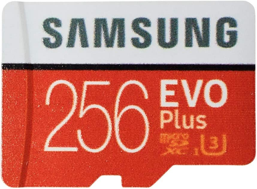 Samsung 256GB Micro SDXC EVO+ Plus Memory Card for Samsung Phone Works with Galaxy A11, A31, A41, M31 Cell Phone (MB-MC256G) Bundle with (1) Everything But Stromboli MicroSD Card Reader