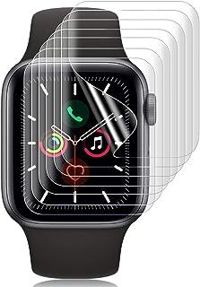 SHINEZONE 【7枚パック】for Apple Watch Series 6 / SE / 5 / 4 44mm フィルム Series2/3 42mmフィルム TPU製 曲面を全面カバー