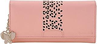 Butterflies Baby Pink Women's Wallet (BNS 2394BPK)