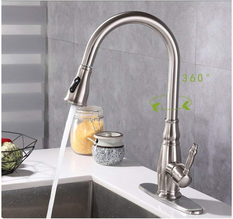 Pull - drehbaren sitzen und den wasserhahn die spüle in der Küche ein Loch zwei aus der Splash - Hahn