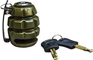 Voss Grenade Motorcycle Disc Lock 6mm pin - Army Green