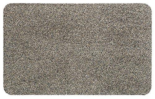 Fußmatte Größe Farbe wählbar, Türvorleger Bodenmatte Schmutzfangmatte Fußabtreter (60 x 100 cm Granid)