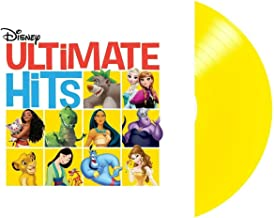 Disney Ultimate Hits - Exclusive Limited Edition Translucent Yellow Colored Vinyl LP
