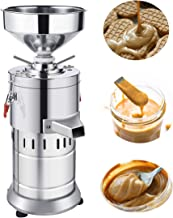 JIAN YA NA 220V Peanut Butter Maker Machine Commercial Peanut Butter Maker Sesame Butter Mill Grinding Machine 15kg/h 1100W