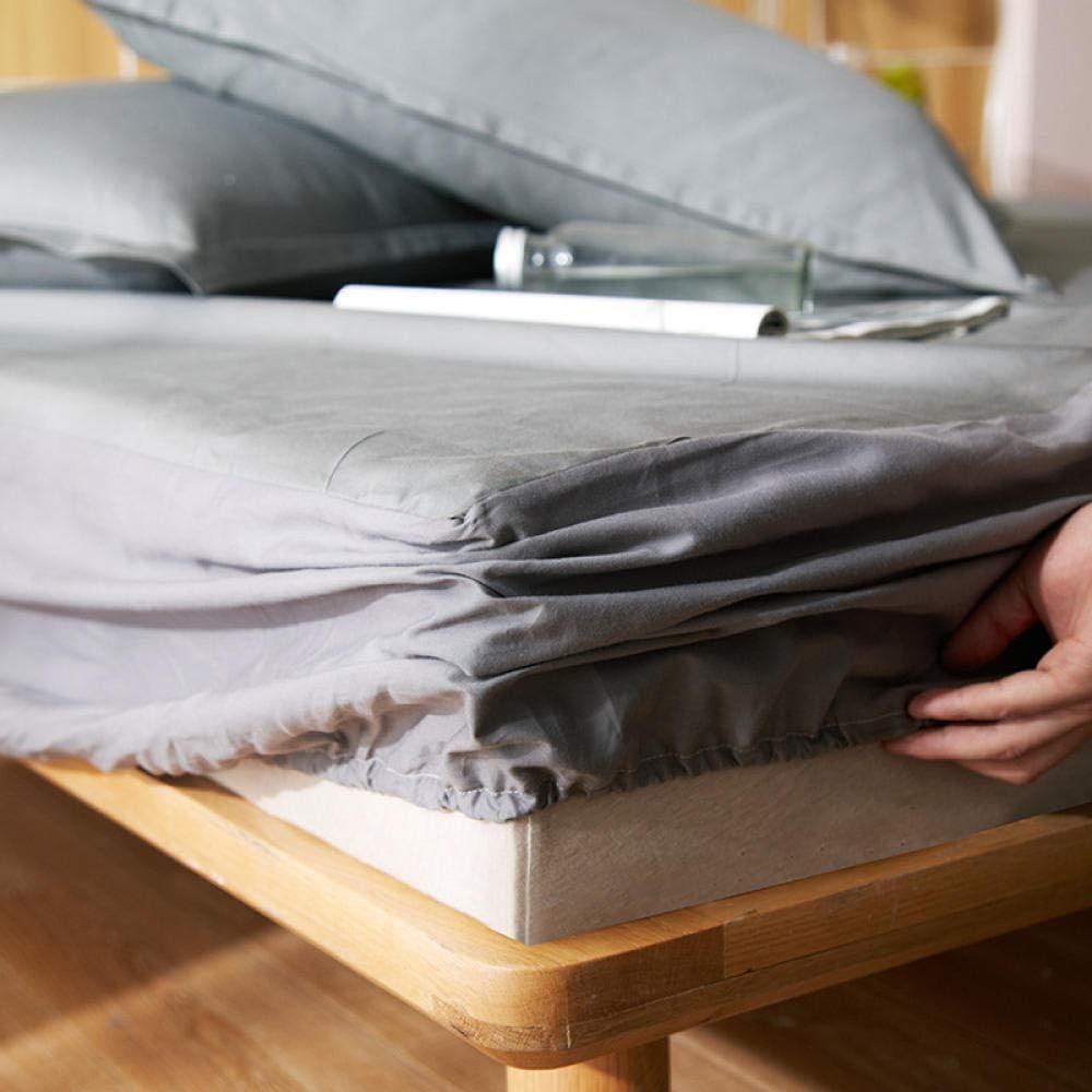 RESUXI Housse de Matelas 180x200x371.Couvre-lit étanche, résistant à l'urine, à l'humidité, à la poussière et aux acariens-Une_150x200cm E