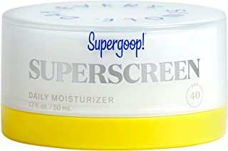 Supergoop! Superscreen - 1.7 fl oz - Hydrating Daily Moisturizer with SPF 40 Sunscreen - Reef-Safe Formula - Protection fr...