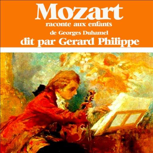 Couverture de Mozart raconté aux enfants