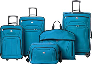 American Tourister Wakefield 5 Piece Luggage Set (Teal Blue)