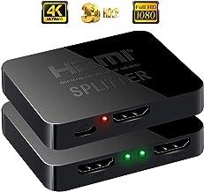 RabbitStorm HDMI Switch Mini HDMI Splitter/Convertidor 1 x 2