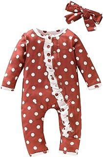 0-18m bebé recién Nacido Punto de Onda Ropa de Dormir Pijamas Mameluco Mono para bebé
