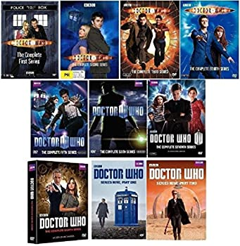 Doctor Who - Complete Collection DVD  Series Seasons 1-9 1,2,3,4,5,6,7,8,9 Bundle  USA Format Region 1