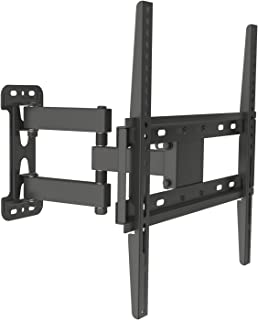 """Husky Mounts for Most 32-55 Inch Full Motion TV Wall Mount Articulating Tilt Swivel Heavy Duty Corner Friendly Bracket. up to VESA 400x400 (16""""x16"""") 77 Lbs Capacity. with 14 1/2"""" Extension"""