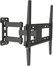 "Husky Mounts for Most 32-55 Inch Full Motion TV Wall Mount Articulating Tilt Swivel Heavy Duty Corner Friendly Bracket. up to VESA 400x400 (16""x16"") 77 Lbs Capacity. with 14 1/2"" Extension"