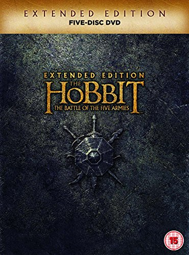 The Hobbit: The Battle Of The Five Armies - Extended Edition [DVD] UK-Import, Sprache: Deutsch, Englisch.