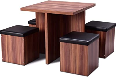Amazon Com Powell Turino Dining Set 6 Piece Kitchen