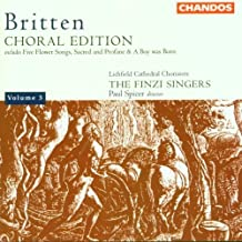 Choral Edition 3 / Five Flower Songs by Britten, B. (1999) Audio CD