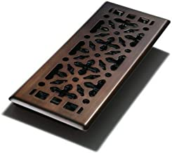 Decor Grates AGH412-RB Gothic Bronze Steel Floor Register, 4-Inch by 12-Inch
