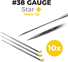 Felting Needles 38 Gauge Star - 10-Pack - Needle Felting – Felting Supplies Store - Great for Carded Wool - Wool Roving - Yarn - Non-Woven Fabric - Needle Felting Tools
