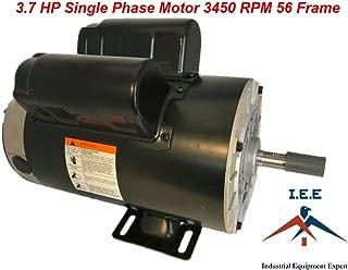 3.7 HP 3450 RPM, 56 Frame, 230V, 17.2Amp, 5/8