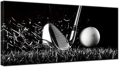 Best golf canvas wall art Reviews