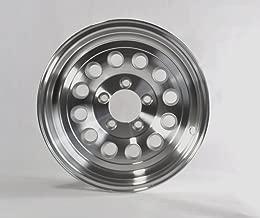 HWT 356545 15X6 5/4.5 Aluminum Series03 Trailer Wheel
