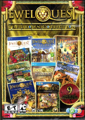 Jewel Quest The Crown Collection (PC Games) (Jewel Effects)