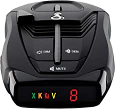 Cobra RAD 380 Laser Radar Detector – Long Range Detection, LaserEye Front and Rear..