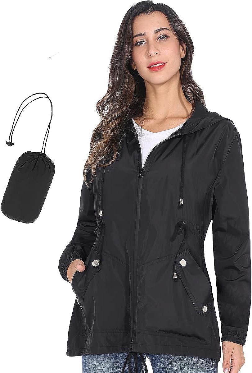 JTANIB Women's Contrasting Sleeve Trench Coat Waist-retractable