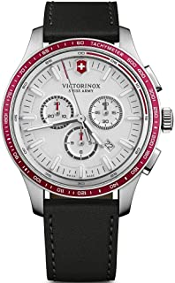 Victorinox - Hombre Alliance Sport - Reloj de Acero Inoxidable con cronógrafo de fabricación Suiza 241819