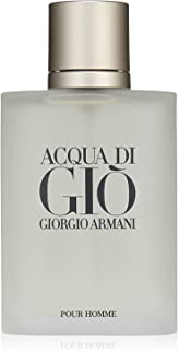 Acqua Di Gio By Giorgio Armani for Men Eau De Toilette Spray 3.4 Fl Oz