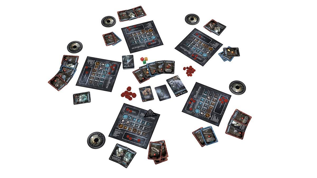Asmodee Bloodborne - Juego de Cartas (en alemán): Amazon.es: Juguetes y juegos
